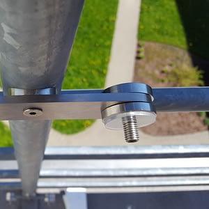 Stikla balkona margas; pilnstikla margas; stikla margas
