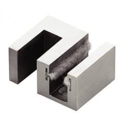 Nerūsējošātērauda gala fiksators; stikla duša; pilnstikla starpsienas; stikla stiprinājumi furnitūra stiklam
