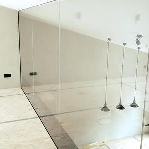 Pilnstikla rūdīta stikla starpsienas 2