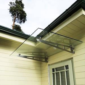 Stikla jumtiņš