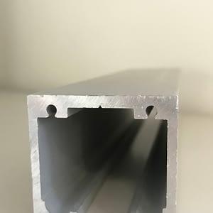 Anodēta alumīnija augšējā sliede; alumīnija profili; anodēts alumīnijs